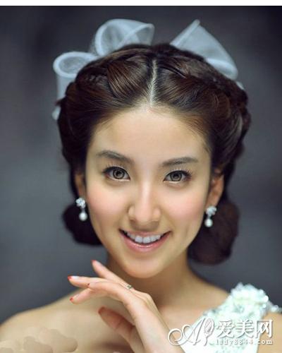 2014年唯美新娘发型 气质优雅高贵