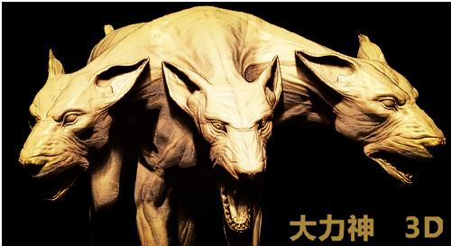 三头地狱犬概念设计图首度曝光
