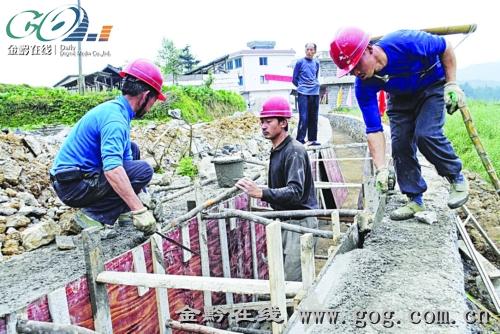 建设工地施工现场