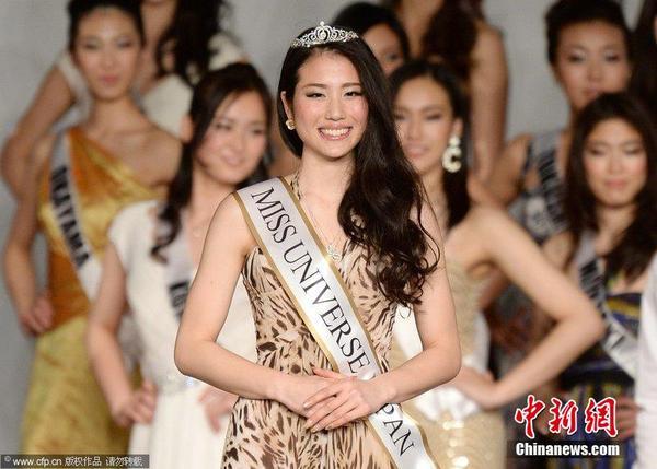 当地时间2014年3月18日,日本东京,日本举办日本小姐选美大赛,20岁大学