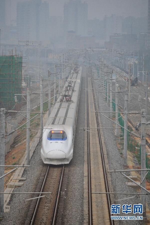 南广高铁广西段即将开通