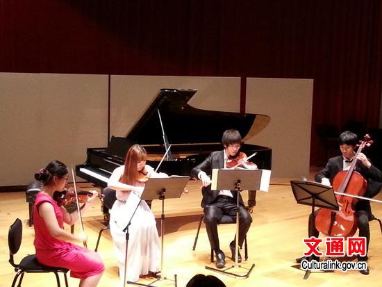 侯依林、高乙文、高思远、贝勒演出弦乐四重奏《心中的歌》-新西兰