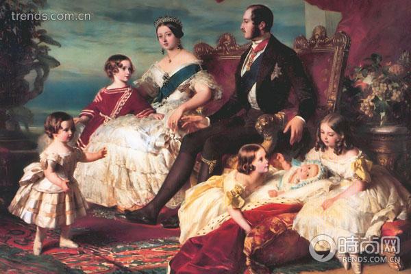 欧式女王油画图