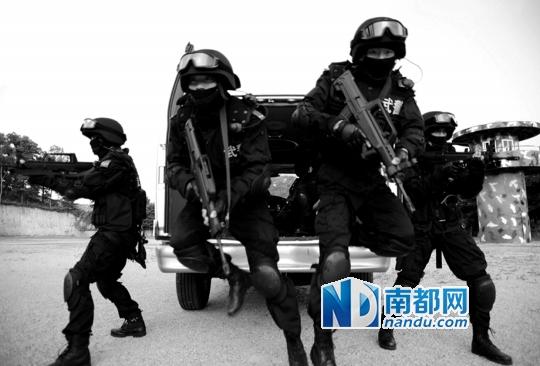 中国多支特种部队曾曝光图片