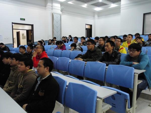装备学院2011中队举办面试与简历制作讲座