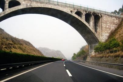 图为四川高速公路.