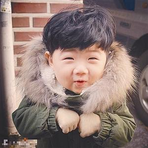 韩国最火萌娃头像