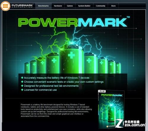 PowerMark 续航能力基准测试