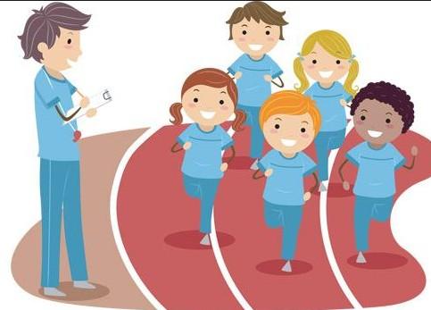 体育卡通_体育运动人物素材矢量素材下载日常生活矢量