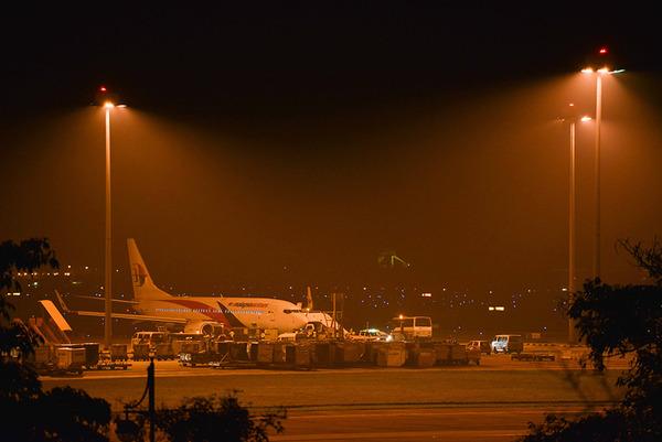 4月21日,马来西亚航空公司mh192航班安全迫降在吉隆坡国际机场.