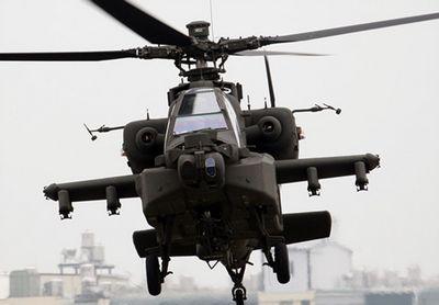 阿帕契直升机。来源:台湾军闻社