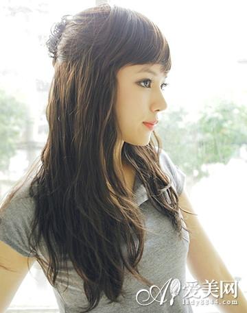 韩式烫发发型图片 甜美清新超吸睛