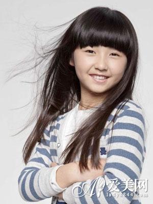 儿童发型图片大全 打造可爱小萝莉|发型|头发_凤凰时尚图片