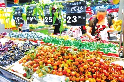 叶菜价格大降 时令水果价高|大白菜|零售价格