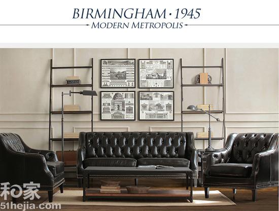 现代简欧风格 英式客厅家具搭配效果图12例|复古