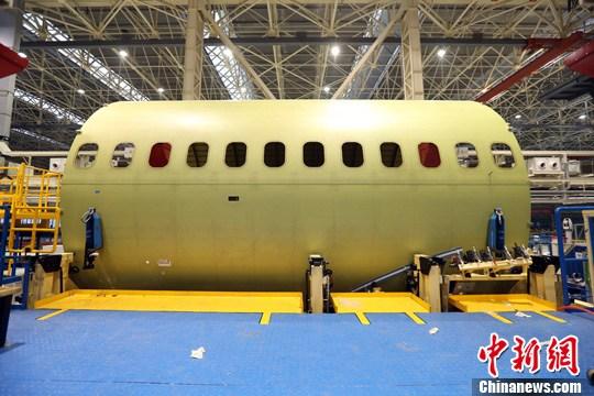 中国大型客机下半年总装