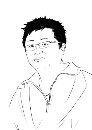 凤凰广场广场的简笔画步骤图