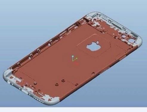 iphone 6模具设计图