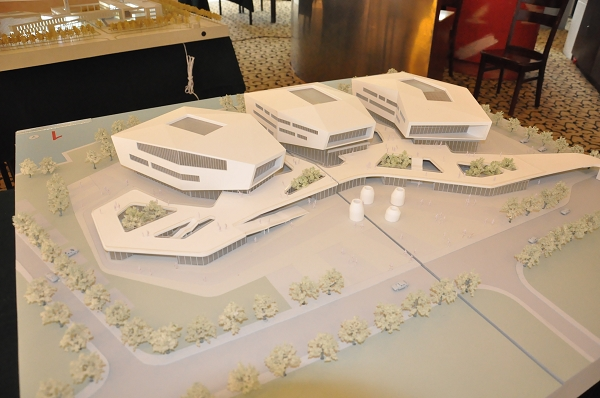 深圳市建筑设计研究总院有限公司建筑设计方案模型