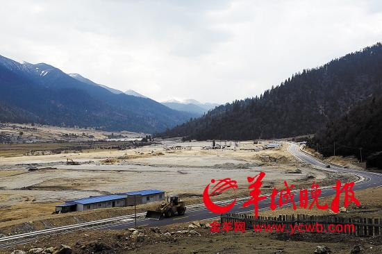 4月中,林芝鲁朗国际旅游小镇项目前期准备基本就绪图片