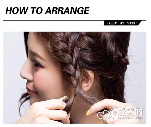 卷发发型扎法步骤 扎出高分造型感|发型|头发