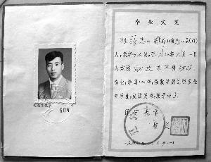 张忠山的大学毕业证体育高中工作计划图片