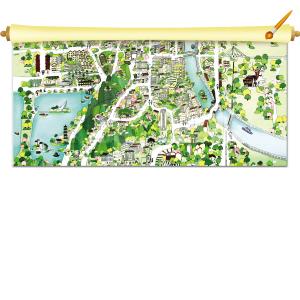 11名学子历时半年手绘徐州|地图|这份_凤凰资讯