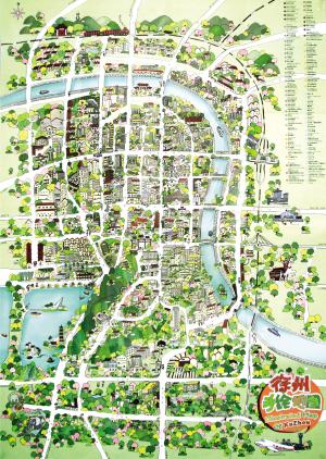 徐州塔山风景区地图