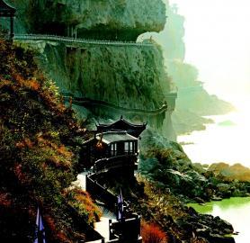 蜀道三国_成都至蜀道三国旅游线路剑门关、七曲大庙、