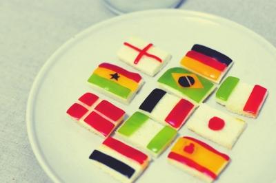 世界杯 创意熬夜餐|面包糠|油炸