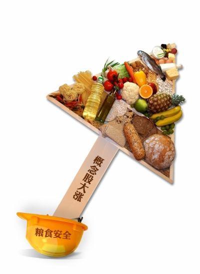 粮食装置然相干政策吹奏暖概念股 概念股团弄体父亲上涨