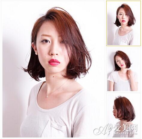 简单染发短发造型 年轻时尚轻松拥有
