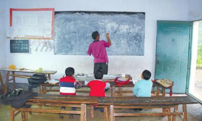 小学都走了,他独自代课小学讲台|老师|坚守辅导班无锡学生暑期图片