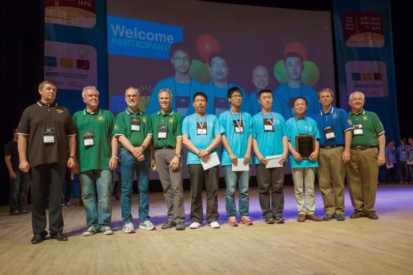交大学子获第38届ACM国际大学生程序设计竞