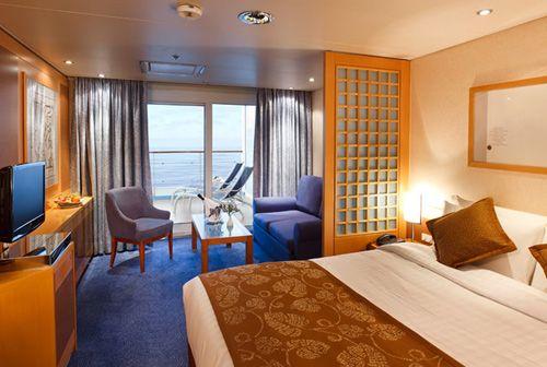 享受海上五星级酒店奢华生活