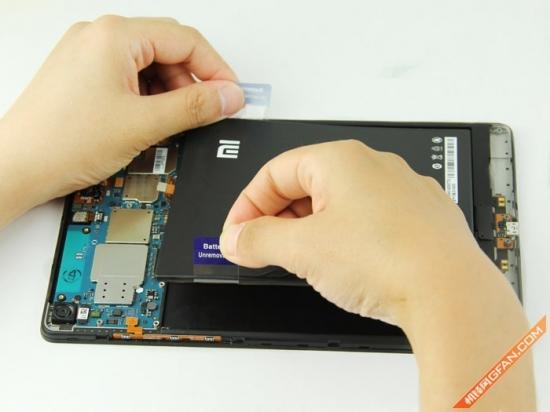 内部结构简单易维修 小米平板拆机评测