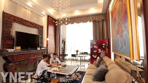 陈龙做客《时尚家居》图片