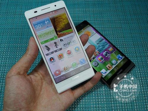 图为:华为Ascend P6(电信版/16GB)手机正面-双卡双待超薄机 华图片