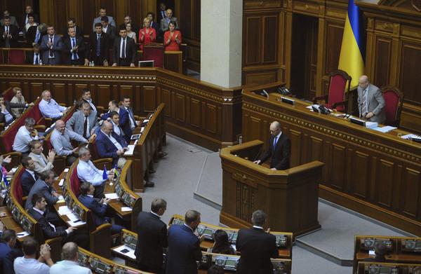 乌克兰总理或因总统逼宫辞职