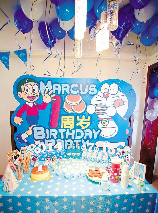 儿童生日主题派对