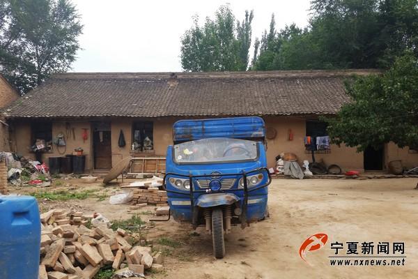高常忠马桂花夫妇的旧房子。
