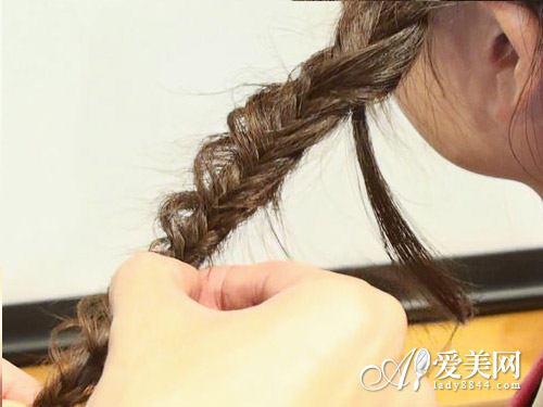 韩式编发教程图解六
