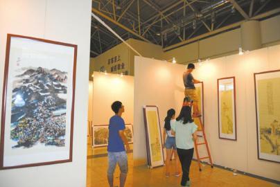 中国书画名家博览会 今日开幕 11位成都艺术家 气场足