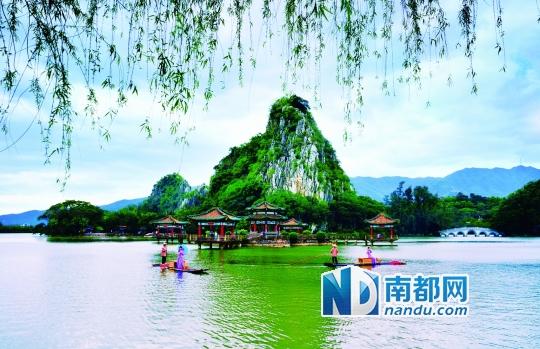 肇庆·星湖风景名胜区.