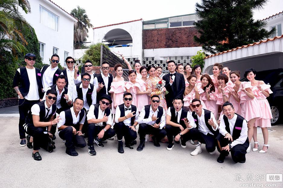 郑希怡香港办婚礼 阿娇阿Sa容祖儿当伴娘[高清大图] - 人在上海    - 中国新闻画报