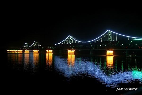 在丹东远眺朝鲜 - 大海 - 大海