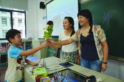 这个教师节,有花,有蛋糕|幼儿园|家长