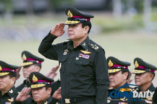 泰国新任总理巴育。(资料图来源:东方IC)
