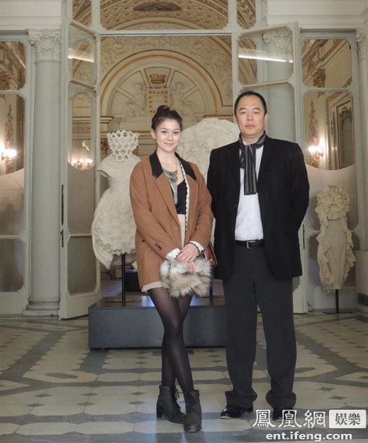 张铁林与混血女儿私照曝光 23岁爱女漂亮似洋娃娃[高清大图 - 人在上海    - 中国新闻画报