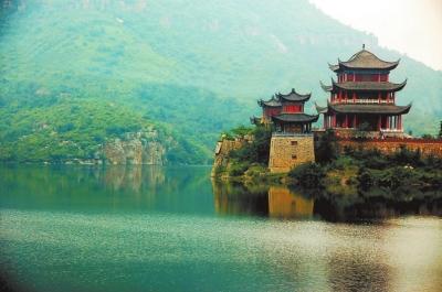 淇县灵山风景区图片